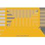 Laptop Icon Yellow 90x90