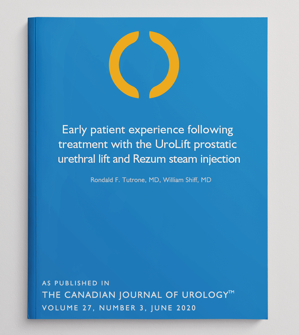 Patient experience following PUL and Rezum